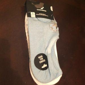 Converse 3 pairs of no show socks